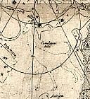 созвездия с макета глобуса Хабрехта
