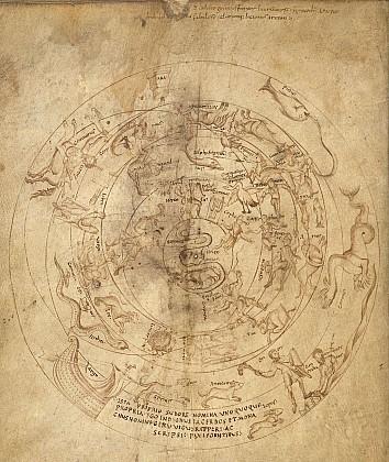 Планисфера Герувигуса 820-840, Франция, Реймс