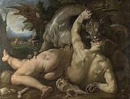 Спутники Кадма, пожираемые драконом
