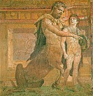 Хирон обучающий юного Ахиллеса