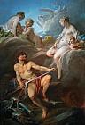 Венера просит у Вулкана<br>оружие для Энея