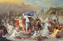 Посейдон и Амфитрита (Триумф Посейдона)