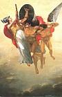 Прометей,<br>возведенный на небеса<br>Гением Свободы<br>и защищенный Минервой