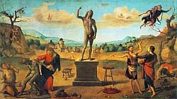 Сцена из легенды о Прометее